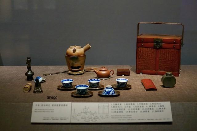 嘉義南院 明治時代のお茶セット