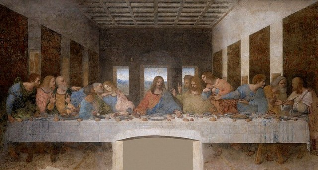 Ultima cena de Leonardo2
