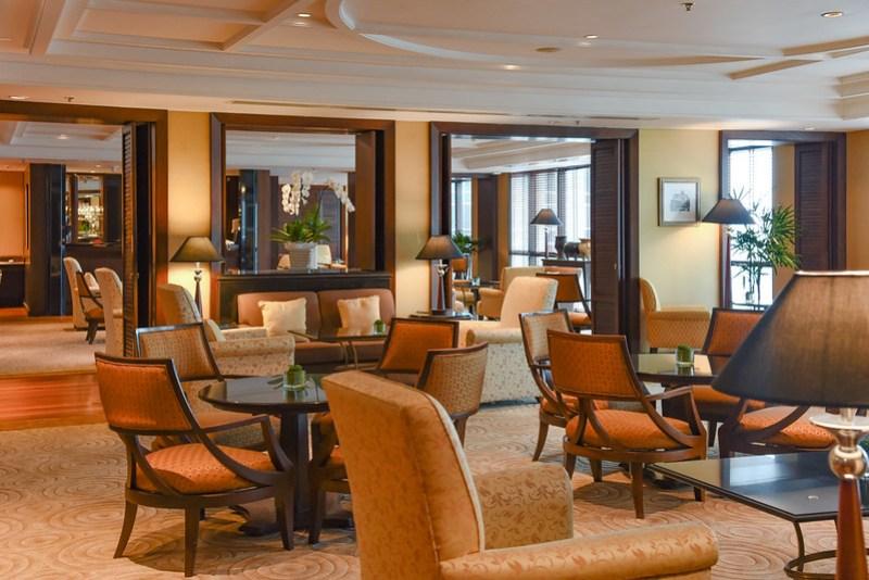 royal club lounge at the athenee bangkok