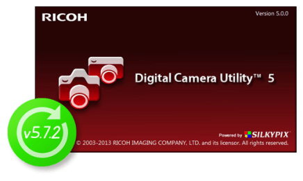 Digital Camera Utility update v5.7.2