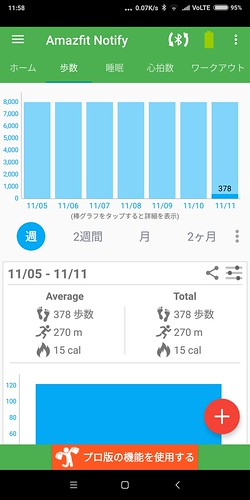 Notify & Fitness for Amazfit レビュー (4)