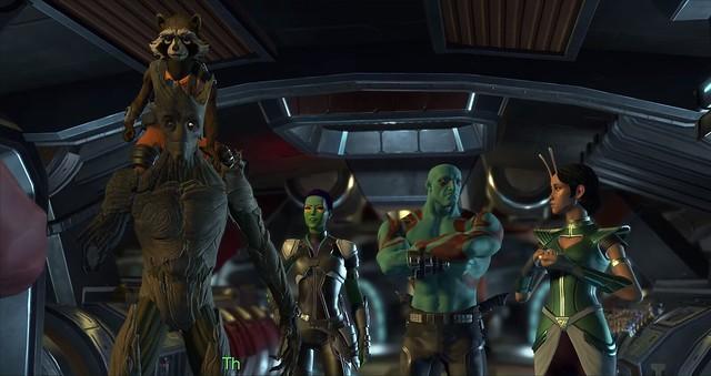 Galaxy Episode 5 Guardians - Konuşma