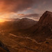 Sunrise over Glencoe