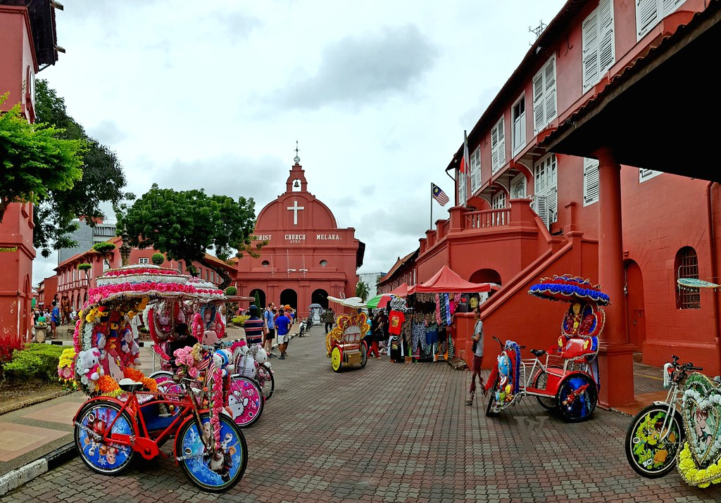 The Stadthuys, Malacca, Malaysia