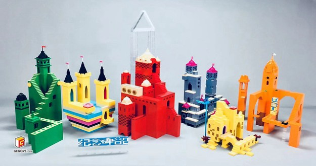 Monument Valley beauty with Lego
