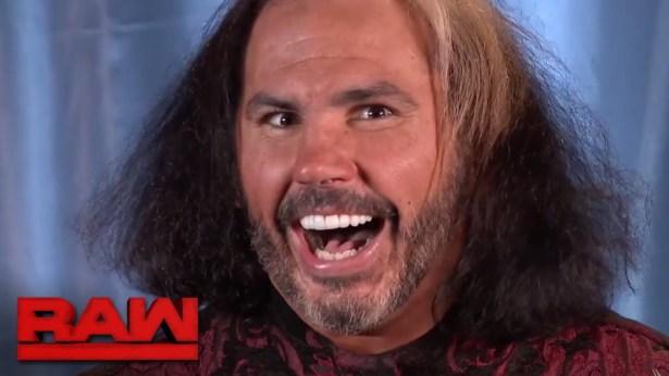 "Matt Hardy vows to ""delete"" Bray Wyatt: Raw, Dec. 4, 2017"