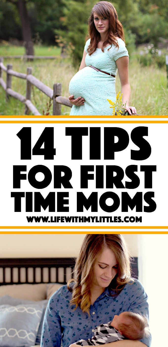 14 Tips for First Time Moms: great advice on how to take care of a newborn and yourself after your baby is born!