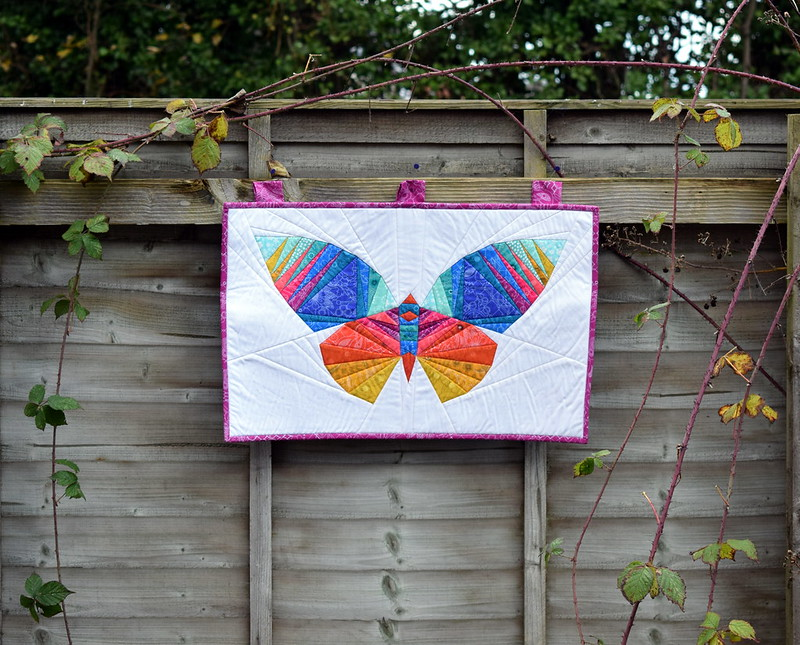 Take Wing Butterfly wallhanging