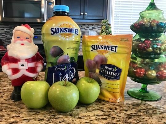 apple & prune mini pies