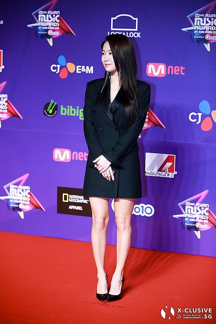 Soyou (ex-SISTAR) at 2017 MAMA in Hong Kong