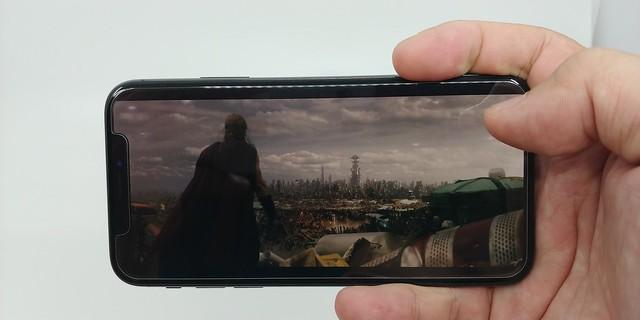 ดูหนังแบบ 21:9 บน iPhone X