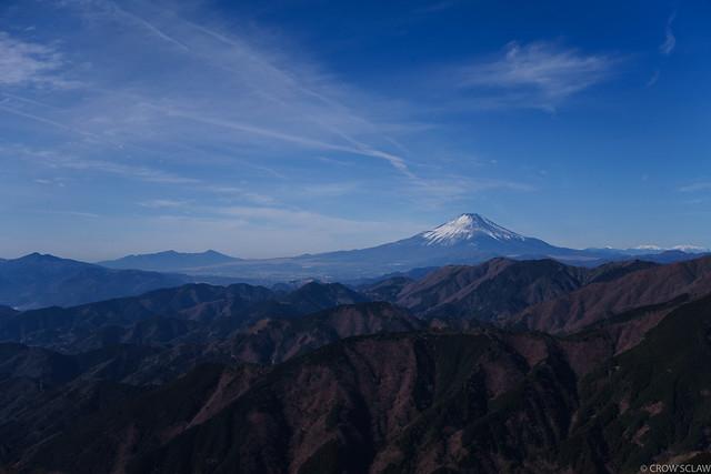 2018.01.07.表尾根〜塔ノ岳〜鍋割山縦走