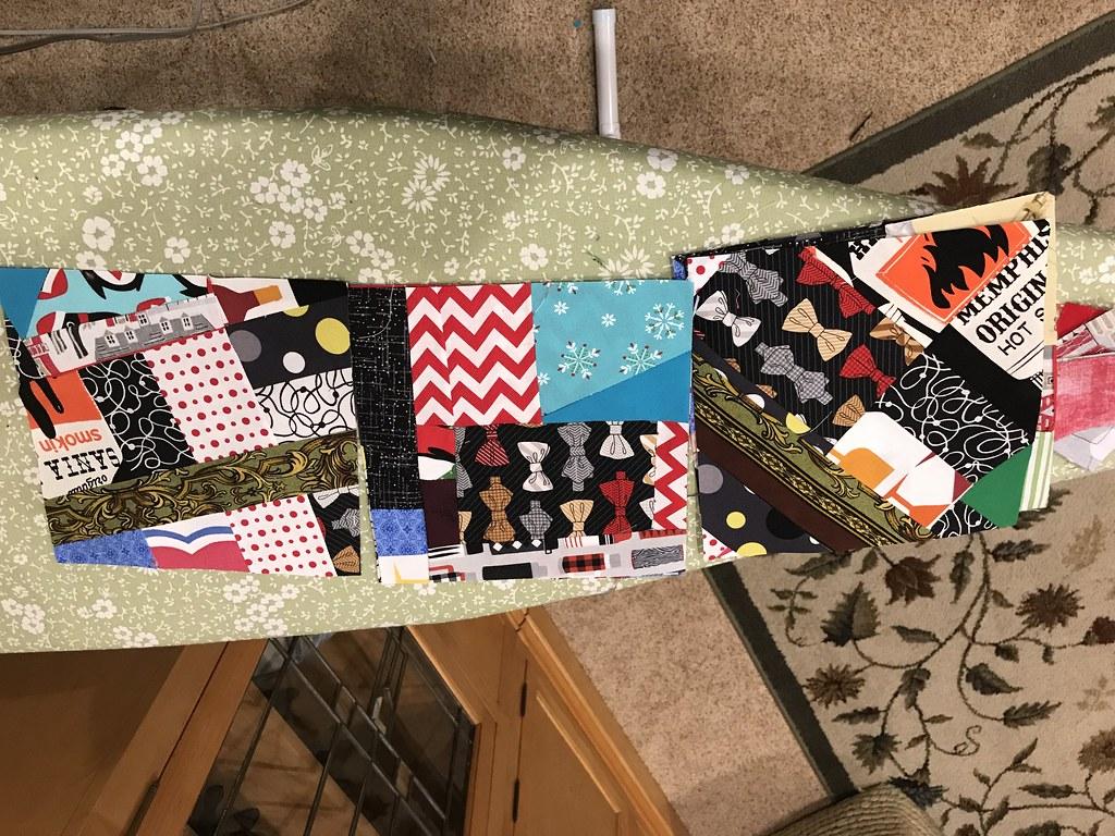 Crumb Quilt blocks