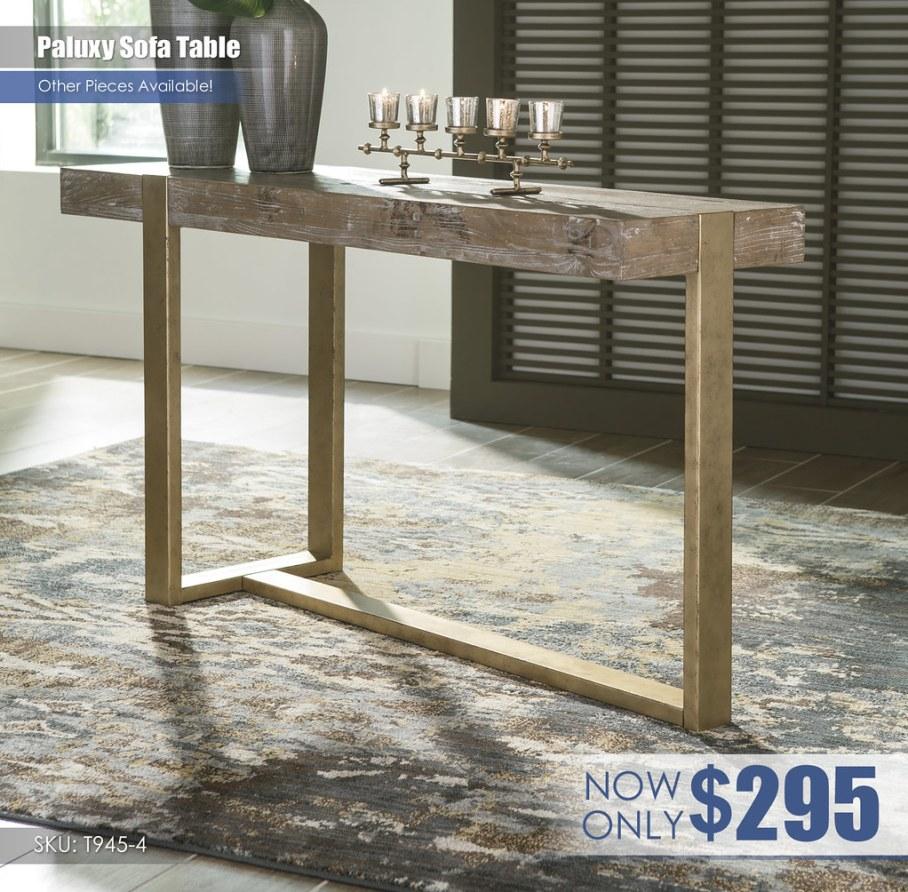Paluxy Sofa Table T945-4