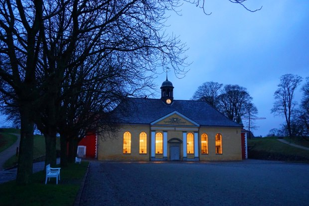 Copenhagen - Kastellet church