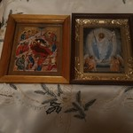 2018 01 07 Nativity and Jesus Christ icons