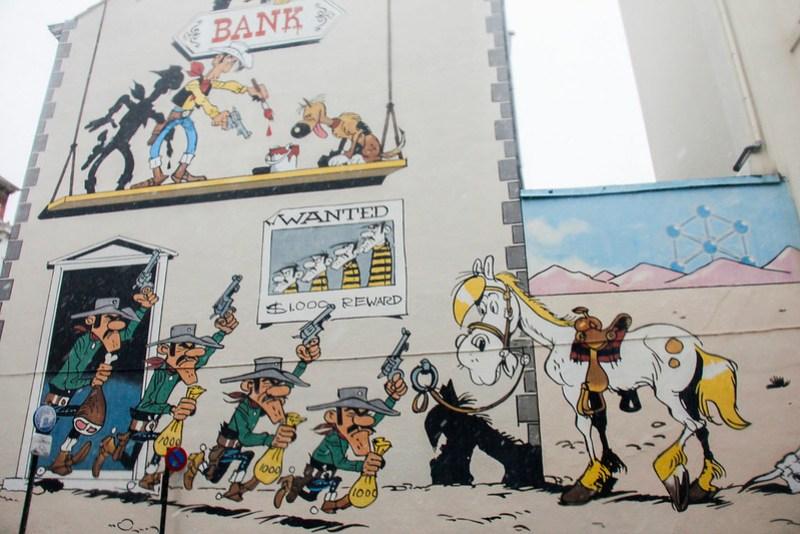 Gadekunst i Bruxelles