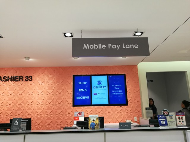 SM Mobile Pay Lane
