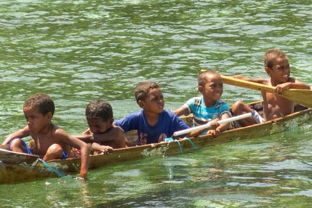 Kids at Yenbuba village
