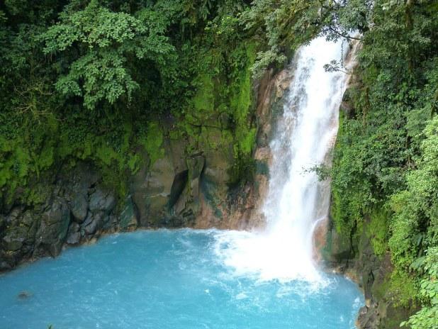 Cascada en Costa Rica