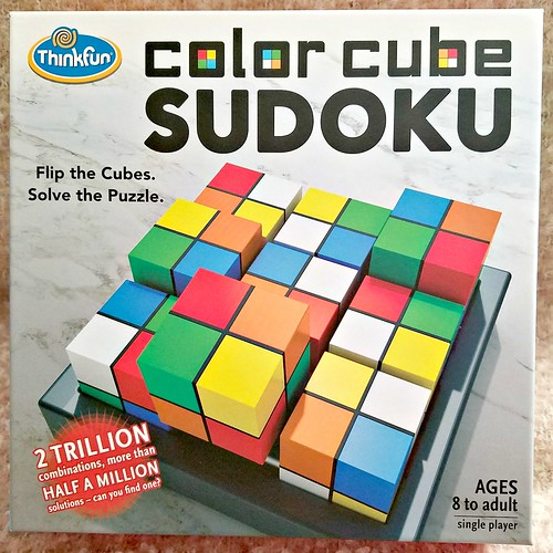 Color Cube Soduku ~ Game Gift Idea