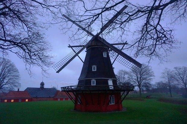 Copenhagen - Kastellet windmill
