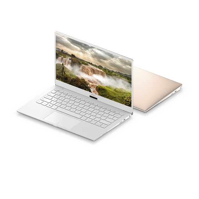 Dell XPS 13 Alpine White & Rose Gold 4
