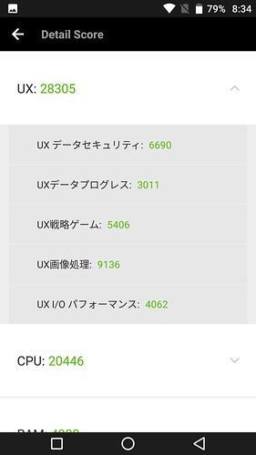 uleFone Armor 2 ベンチマーク検証編 (3)