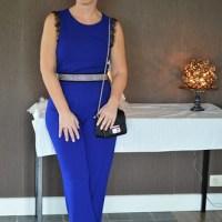 Beauty 'n Fashion: Blue jumpsuit