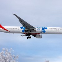 Emirates A6-EPK, OSL ENGM Gardermoen