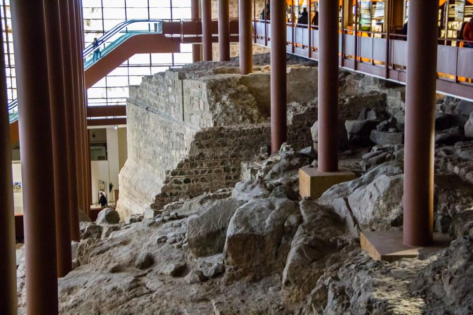 restos arqueologicos romanos y arabes del Alcazar de Toledo 06