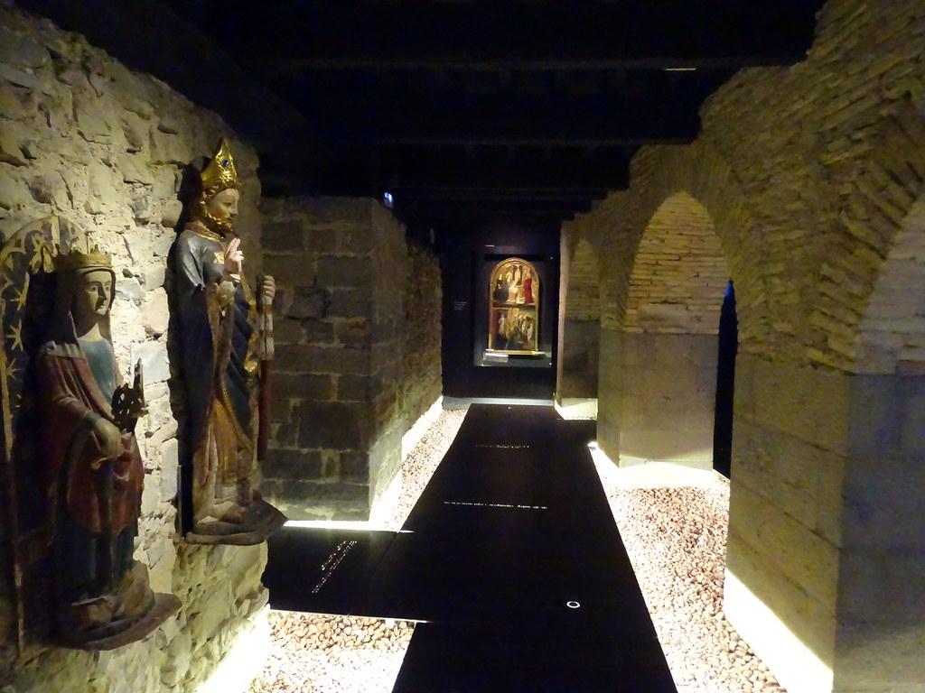 Sala Baja Edad Media Casa del Arcediano Exposicion Occidens Catedral de Pamplona 03
