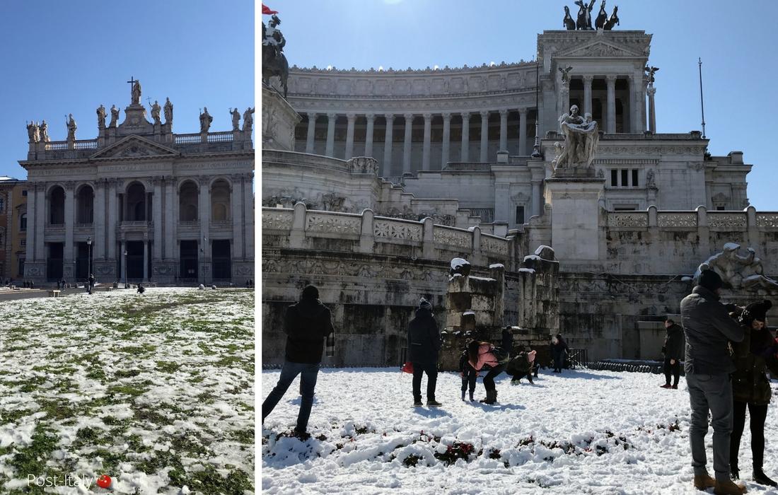 Neve em Roma