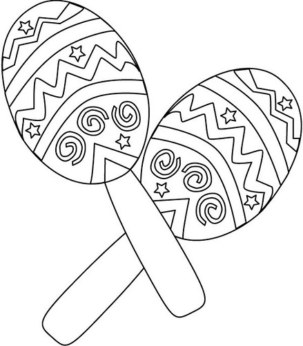 Mexican Child Coloring Pages Free