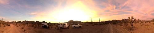 BGAFR -  gate 15 sunset panorama