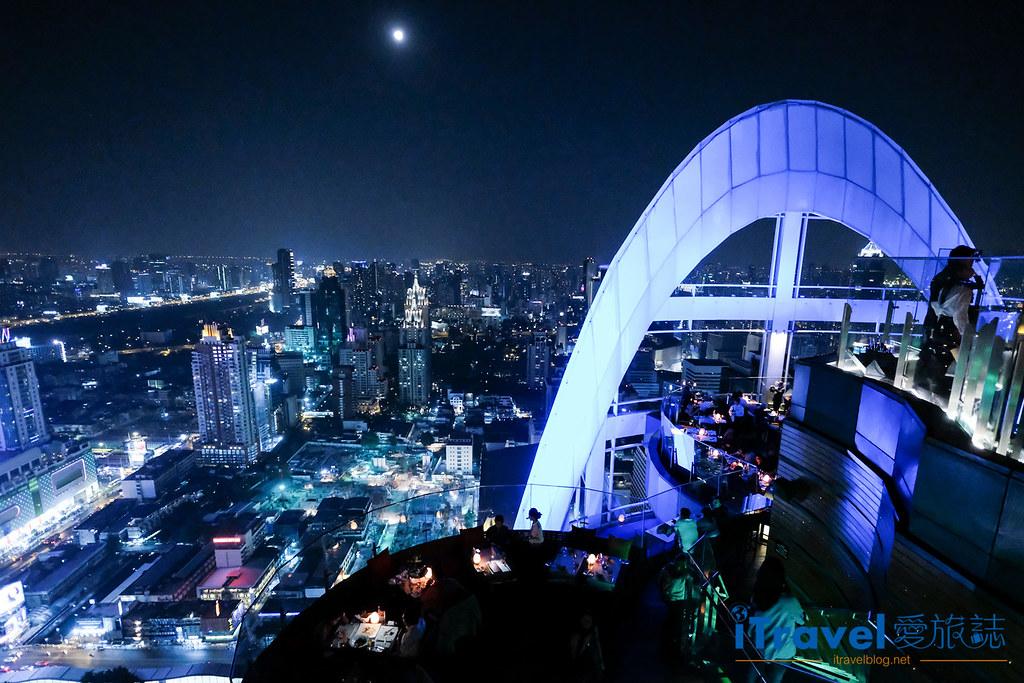 曼谷高空酒吧 Red Sky Bar (1)