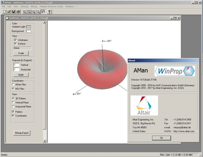 Working with Altair WinProp 14.5 Suite full license