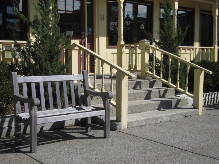 Bench and Steps