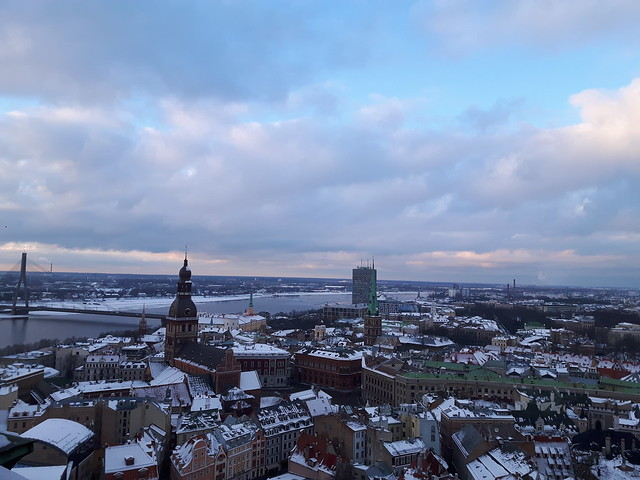 View over Riga horizontal