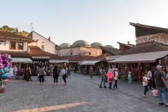 Op mijn eerste dag in Bosnië en Herzegovina ging ik een stukje door de oude bazaar struinen.