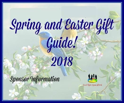 2018 Spring/Easter Gift Guide Sponsor Information