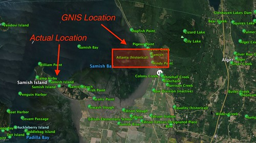 GNIS Map