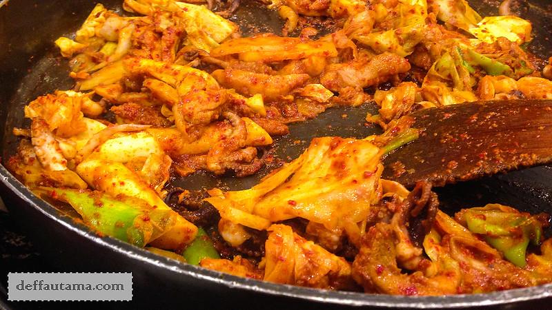 5 hari di Seoul - Marinated Chicken Galbi