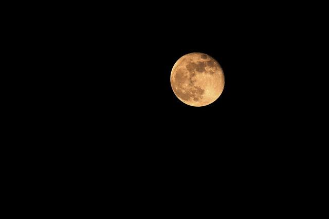 Mond vom 01.02.2018