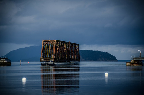 Swinomish Channel Rotating Railroad Bridge-001