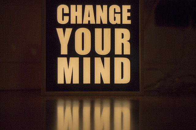 Change your f****ng mind