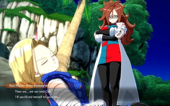 Dragon Ball FighterZ - Android 21