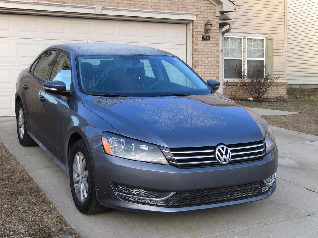 Ich habe einen Volkswagen gekauft