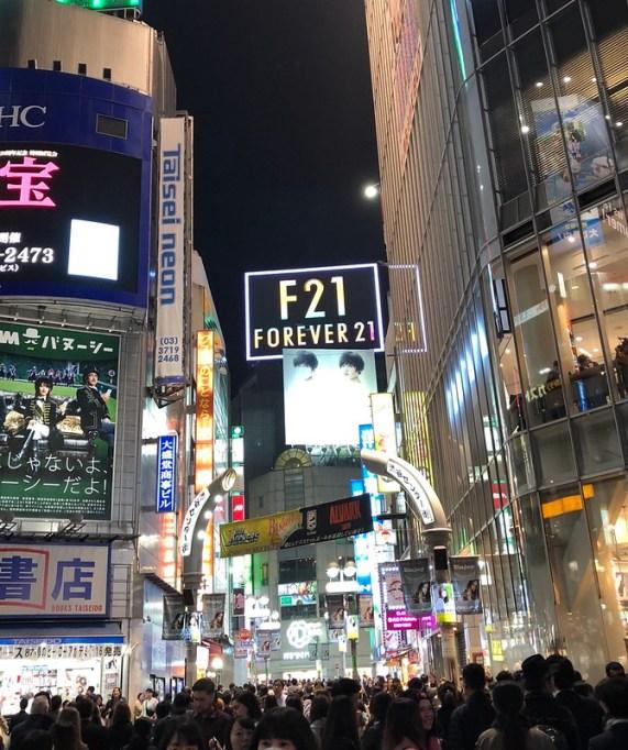 Japan shibuya