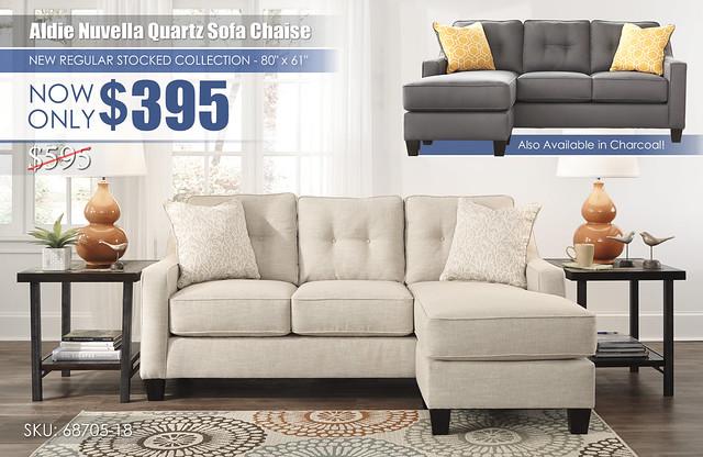 Aldie Nuvella Quartz Sofa Chaise wInsert_68705-18-SET